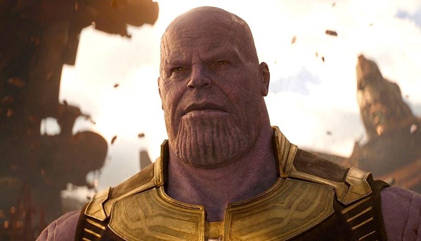 Josh Brolin plays Thanos in Avengers: Infinity War. Marvel Studios