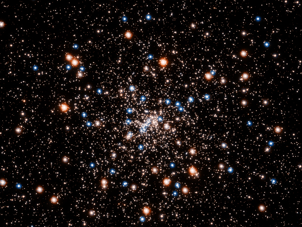 This ancient stellar jewelry box, a globular cluster called NGC 6397, glitters with the light from hundreds of thousands of stars. NASA