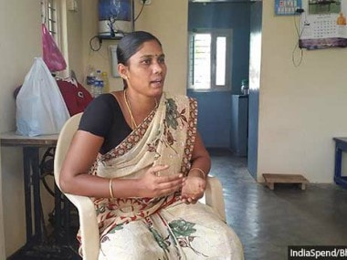 Muthammal, the dalit president of Veerappanaikampatti panchayat, had her financial powers suspended under Article 205 of Tamil Nadu Panchayat Act. Image courtesy: Inidaspend