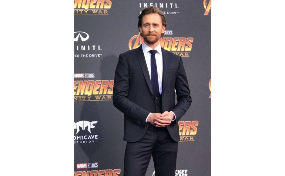 Tom Hiddleston attends Avengers: Infinity War world premiere in Los Angeles/Image from Twitter @marvel.