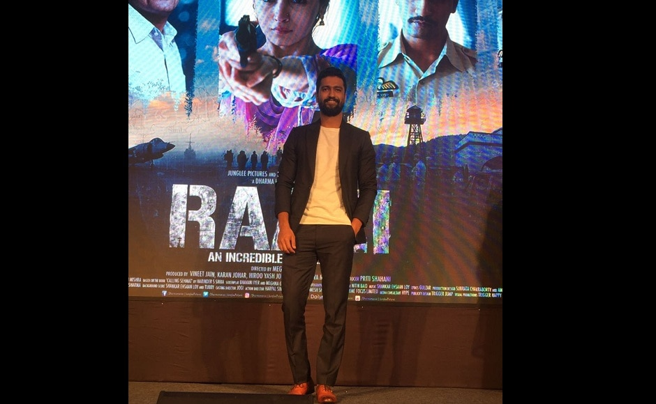 Alia Bhatt and Vicky Kaushal launch Ae Watan Song from Raazi