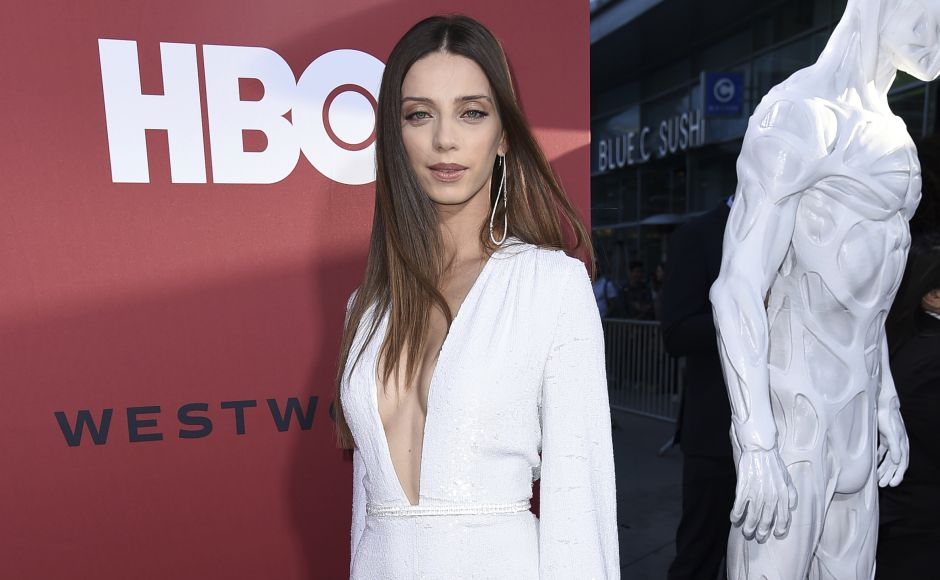 Angela Sarafyan attends the LA Premiere of Westworld Season Two at the Cinerama Dome in Los Angeles. Richard Shotwell/Invision/AP