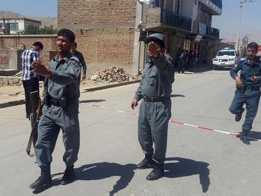 File image of Afghanistan police. Reuters