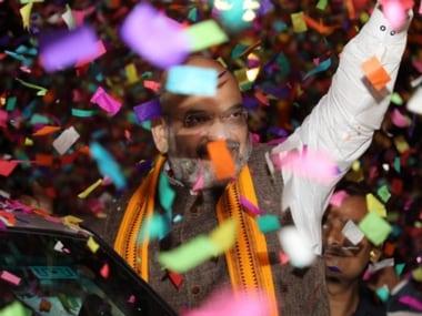 Amit Shah in Mumbai: BJP chief to address mega rally today, will meet party legislators from Maharashtra