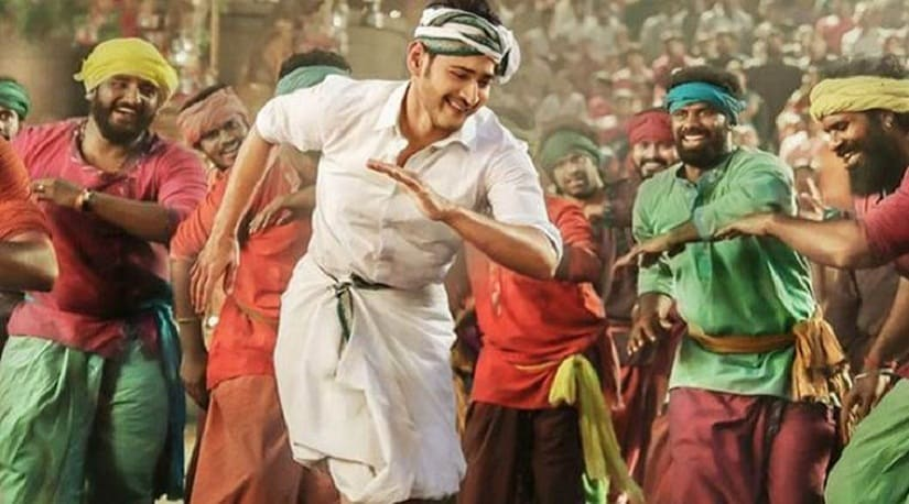 Mahesh Babu in a still from Bharat Ane Nenu. YouTube