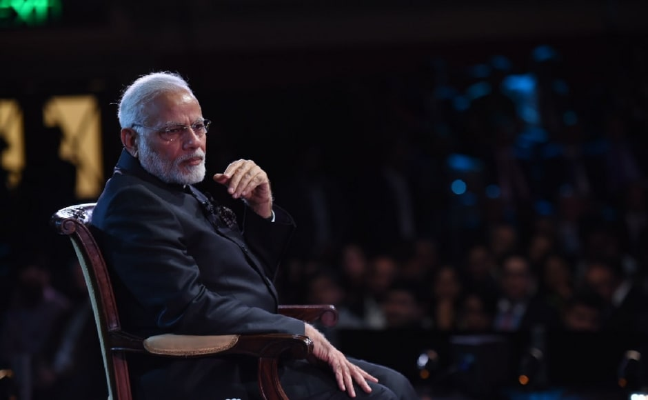 On recent incidents of rapes of minor girls in the country, Modi expressed grief and called it an evil of not just the individual but also of the society. Don't politicise rape, he said. Twitter@PIB_India
