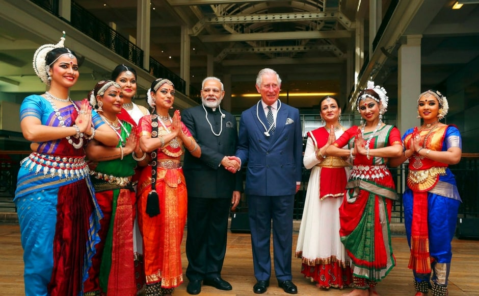 Earlier on Wednesday, Modi met Prince Charles at an exhibition on Indian science and innovation in London after holding bilateral talks with British prime minister Theresa May. AP