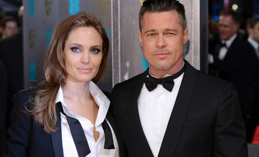Brad Pitt and Angelina Jolie/Image from Twitter.