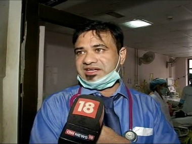 File image of Dr Kafeel Khan. News18