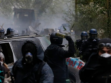 63 arrested, nine police personnel injured in France as people protest Emmanuel Macrons labour law changes