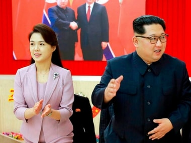 North Korean media accords Kim Jong-uns wife first lady status ahead of South Korea and US meetings