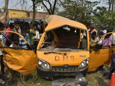 Kushinagar accident: Day after tragedy, UP govt suspends four officials from education, transport departments