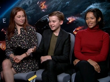 Lost in Space: Mina Sundwall, Maxwell Jenkins and Taylor Russell on playing space colonisers