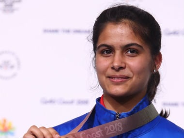 commonwealth games 2018 16 year old manu bhaker elated with huge