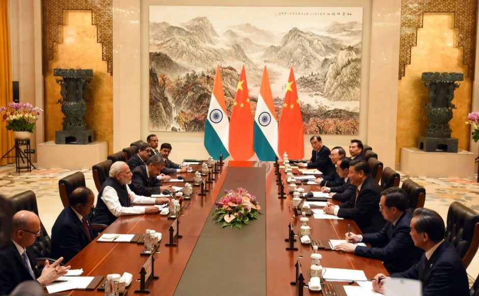 At the delegation level meeting between the two sides on Friday, Modi underscored theimportance of people-to-people contact. AP