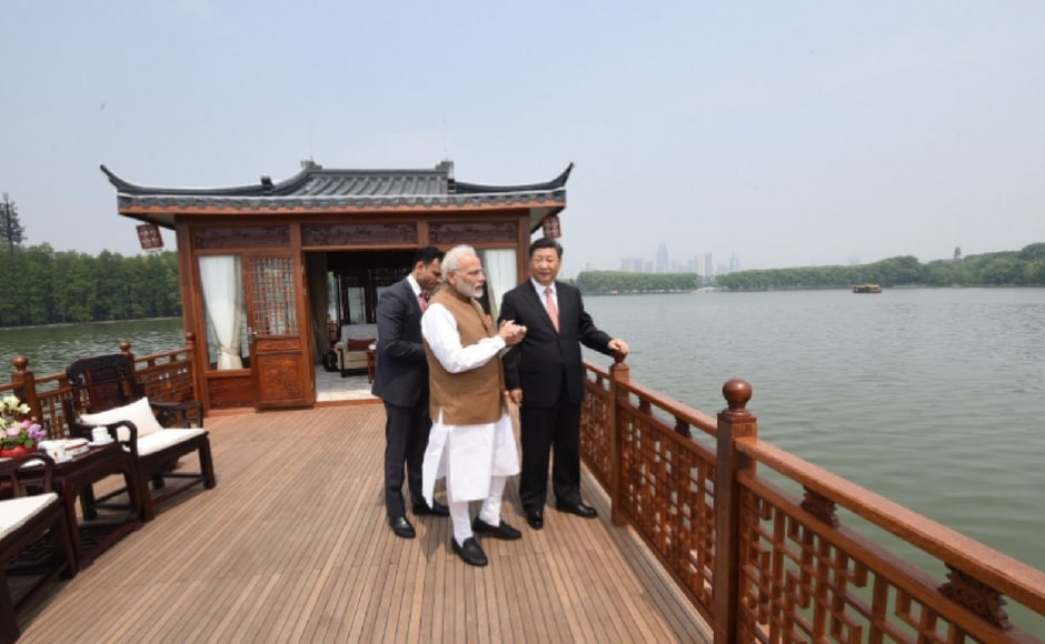 They also witnessed a traditional tea ceremony during their lakeside walk and then went on an hour-long ride in a double-decker boat. The two leaders expressed strong opposition to terrorism and committed to cooperate further in counter-terrorism. Twitter@narendramodi
