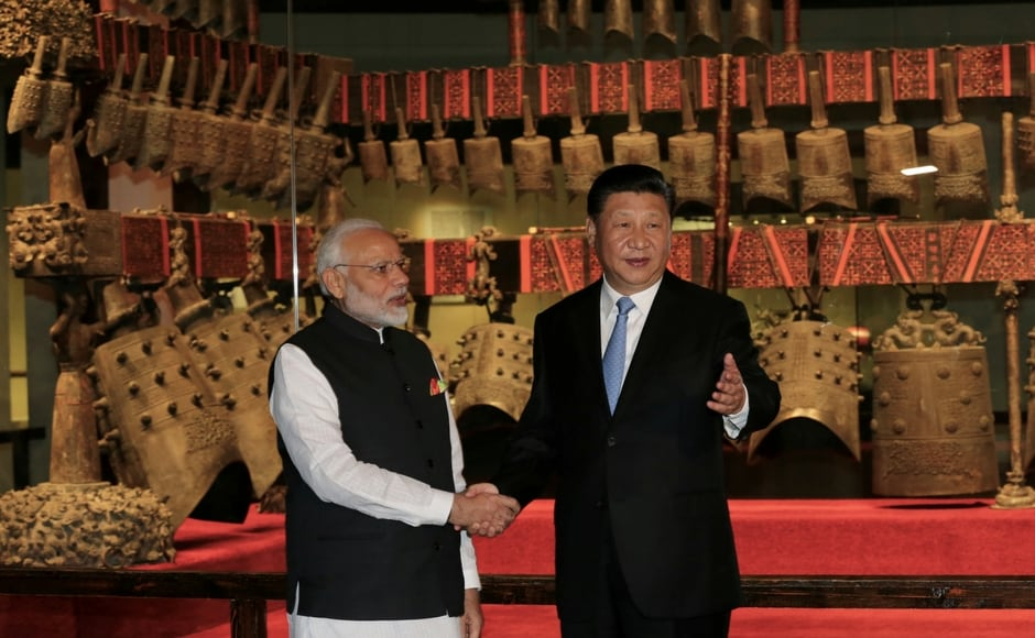 After his arrival in Wuhan early on Friday, Modi and Xi first met at the Hubei Provincial Museum where the two leaders held one-on-one talks. Xi then took Modi on a tour of the exhibition of Marquis Yi of Zeng Cultural Relics and Treasure at the museum. Reuters