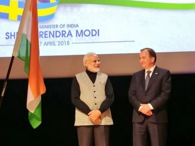 Narendra Modi addresses Indian diaspora in Sweden, says NDA govt taking India to 'new heights' in 21st Century