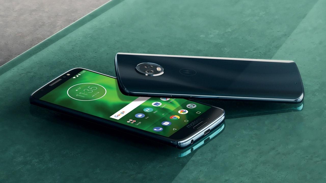 The Moto G6. Motorola