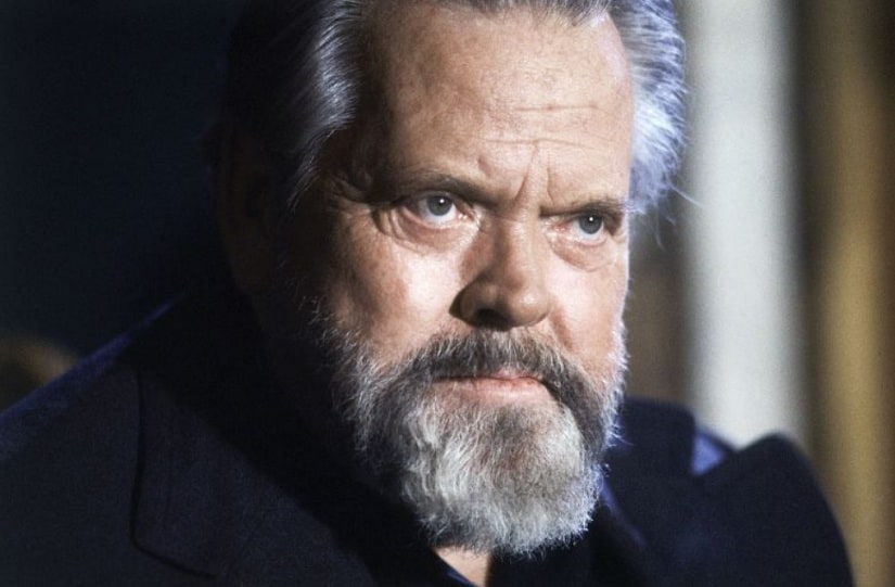 Orson Welles. Image from Twitter/@indiewire