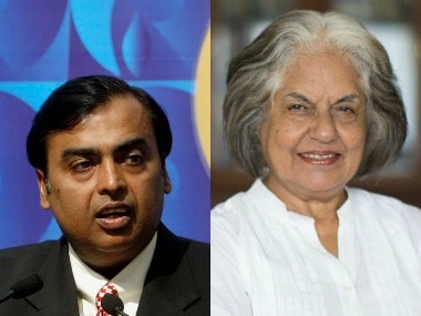 Mukesh Ambani, Indira Jaising and Balkrishna Doshi figure on Fortune's World's Greatest Leaders list