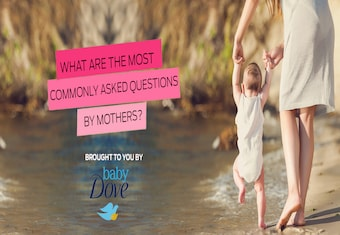 What are the most commonly asked questions by mothers?