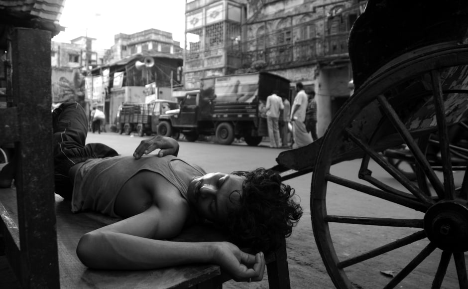 The Calcutta Hackney-Carriage (Amendment) Bill, 2006 called for the withdrawal of these rickshaws. Of the 6,000 or so sources of livelihood that will be lost, little has been said, apart from promises of 'rehabilitation'. Photo by Satwik Paul.