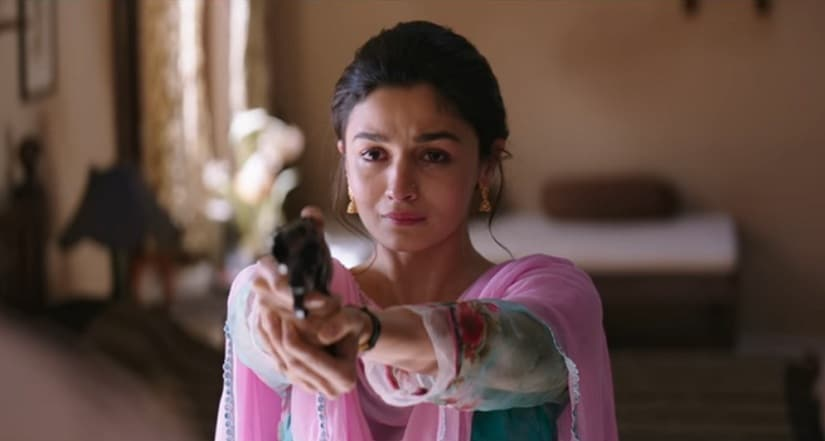Alia Bhatt as Sehmat in a still from Raazi. YouTube