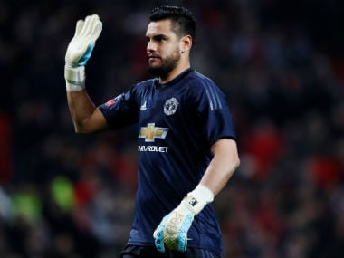 FA Cup: Manchester United goalkeeper Sergio Romero likely to miss semi-final due to injury