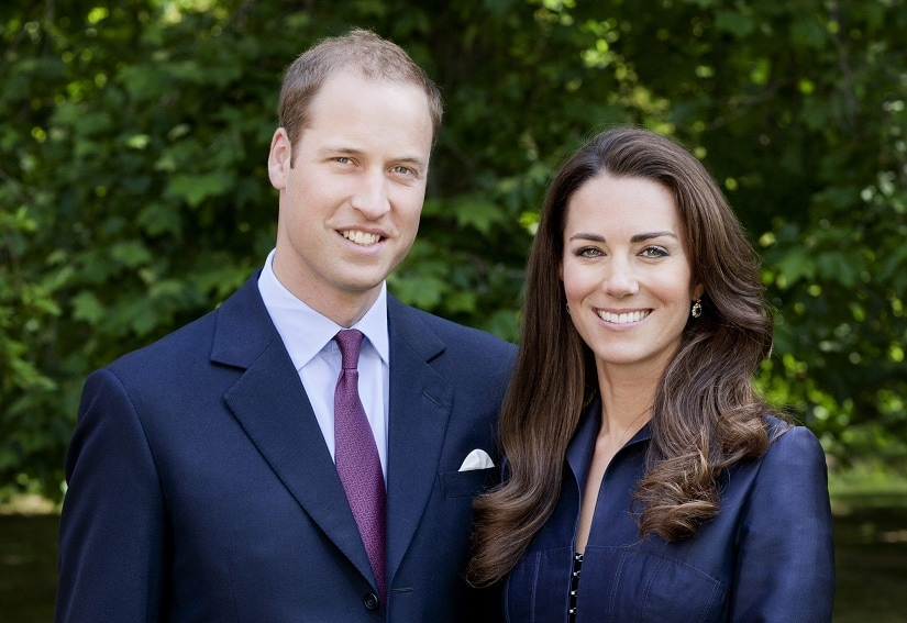 Prince William And Kate Middleton. Image via Twitter