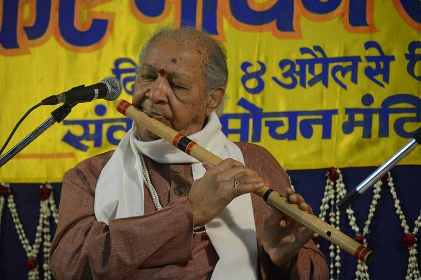 Pandit Hariprasad Chaurasia at the festival