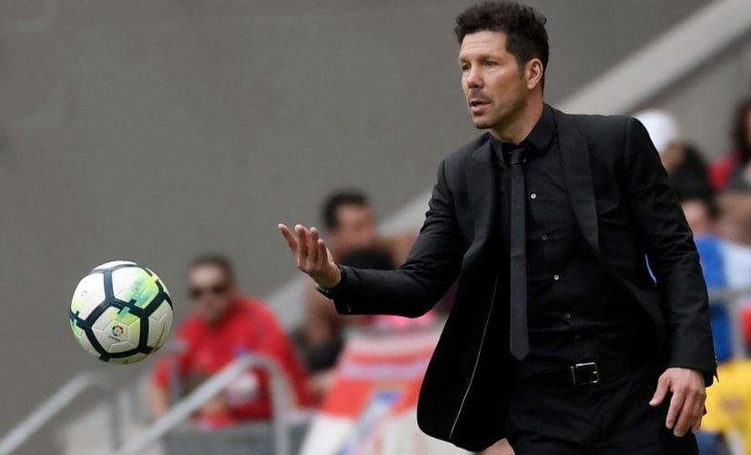 File image of Diego Simeone. AFP