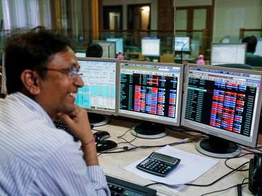 Stock broker. Representative image.  Reuters