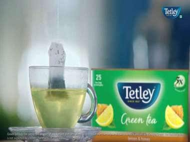 Take another step towards good health with a cup of Tetley Green Tea!