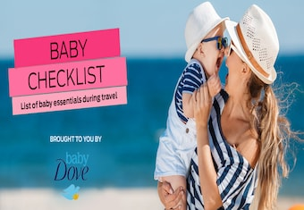 Baby Checklist: List of baby essentials during travel