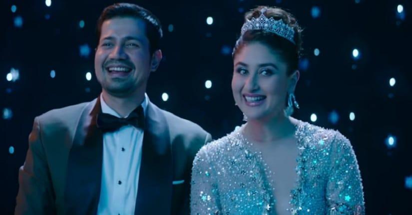 Sumeet Vyas and Kareena Kapoor Khan in a still from Veere Di Wedding. YouTube