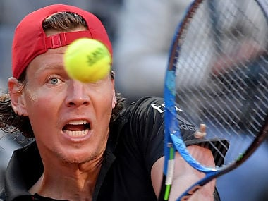 Czech Republic's Tomas Berdych looked out of touch on Tuesday. AFP