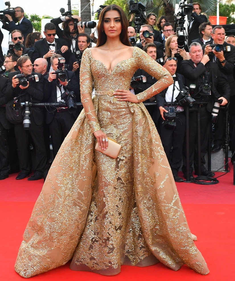 Sonam Kapoor Image from AFP/LOIC VENANCE