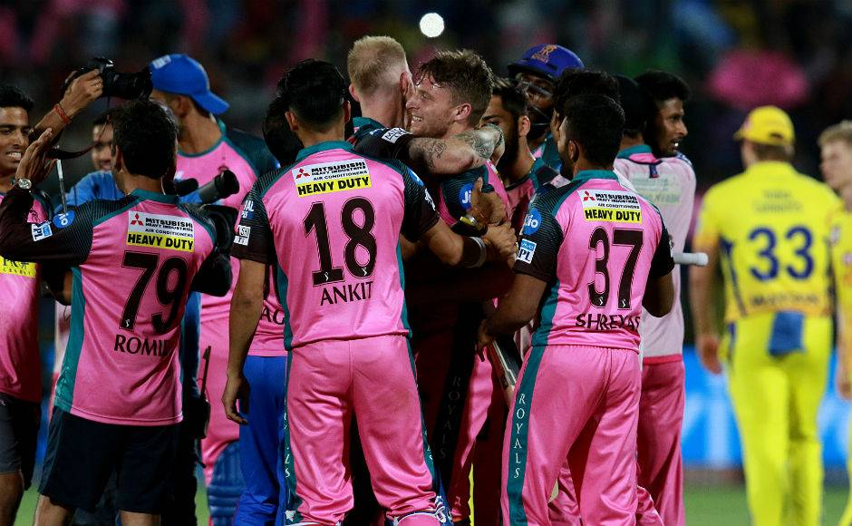 Jos Buttler's scintillating knock helps Rajasthan Royals beat Chennai Super Kings and keep playoff hopes alive