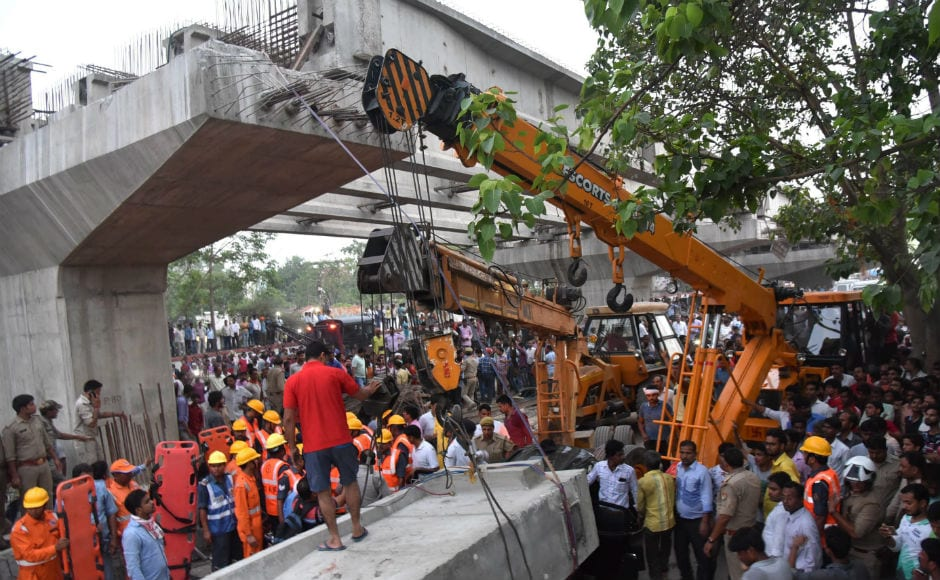 Eighteen persons were killed as an under-construction flyover collapsed on Tuesday in Varanasi, the parliamentary constituency of Prime Minister Narendra Modi. The incident took place in front of the Varanasi Cantt Railway Station. PTI
