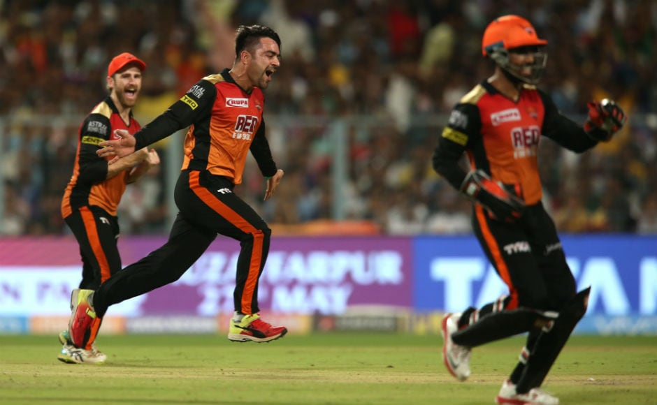 Rashid Khans all-round heroics helps Sunrisers Hyderabad beat Kolkata Knight Riders in IPL 2018 2nd Qualifier