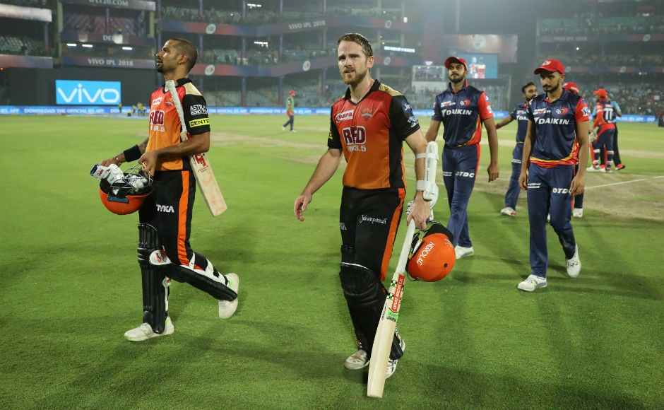 Rishabh Pant's ton for Delhi Daredevils goes in vain as Kane Williamson, Shikhar Dhawan power Sunrisers Hyderabad to victory