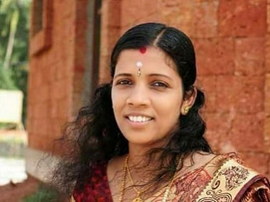 Lini, a 31-year-old Nipah-affected nurse, who died on Monday morning. News18