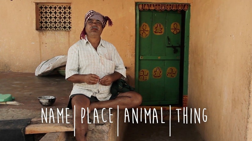 Documentary Name|Place|Animal|Thing introduces Karnataka's Hakki Pikki tribe and its oddly named people
