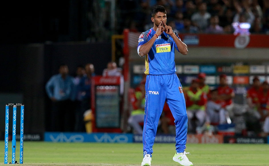 Krishnappa Gowtham picked 2 wickets foir just 11 runs in 3 overs, getting rid of Chris Gayle early on in the innings and followed it up with the wicket of Ravichandran Ashwin who came out to bat at number 3. Sportzpics