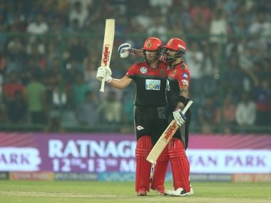 IPL 2018: AB de Villiers and Virat Kohli demolish DD with graceful yet belligerent batting to keep RCB's hopes afloat