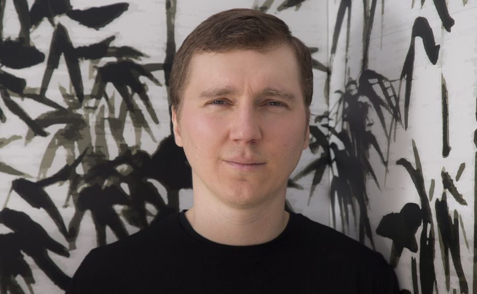 Director Paul Dano poses for portrait photographs for the film Wildlife, at Cannes Film Festival. Photo by Joel C Ryan/Invision/AP