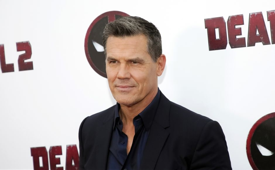 Josh Brolin, who plays Cable in Deadpool 2, attends a special screening of the film in New York. Photo by Brent N. Clarke/Invision/AP