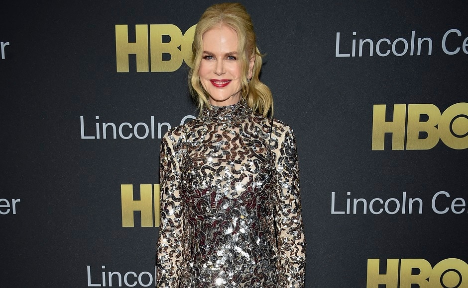 Actress Nicole Kidman attends the Lincoln Center for the Performing Arts American Songbook Gala at Alice Tully Hall. Photo by Evan Agostini/Invision/AP