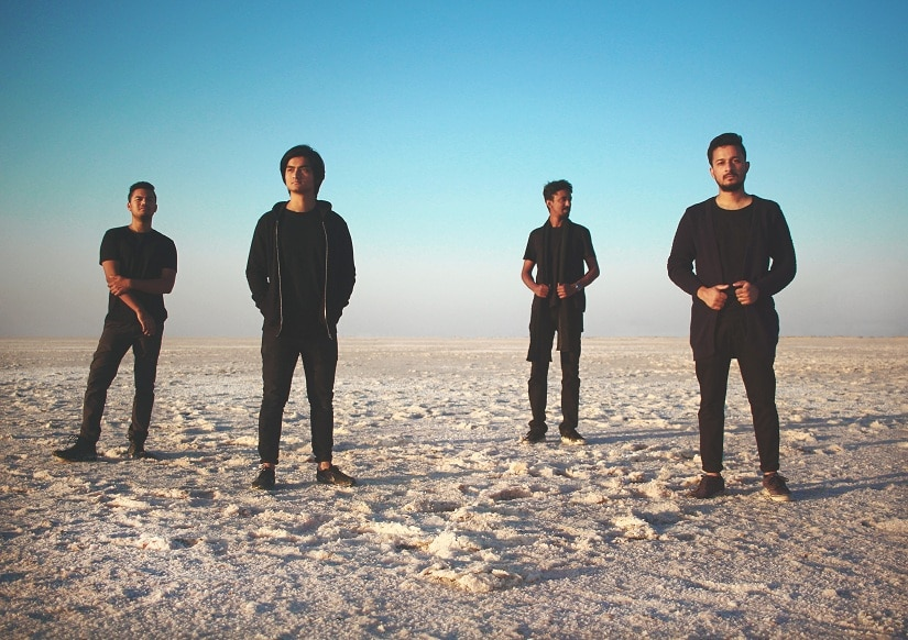 Aswekeepsearching frontman Uddipan Sarmah on the realities of touring as an indie band